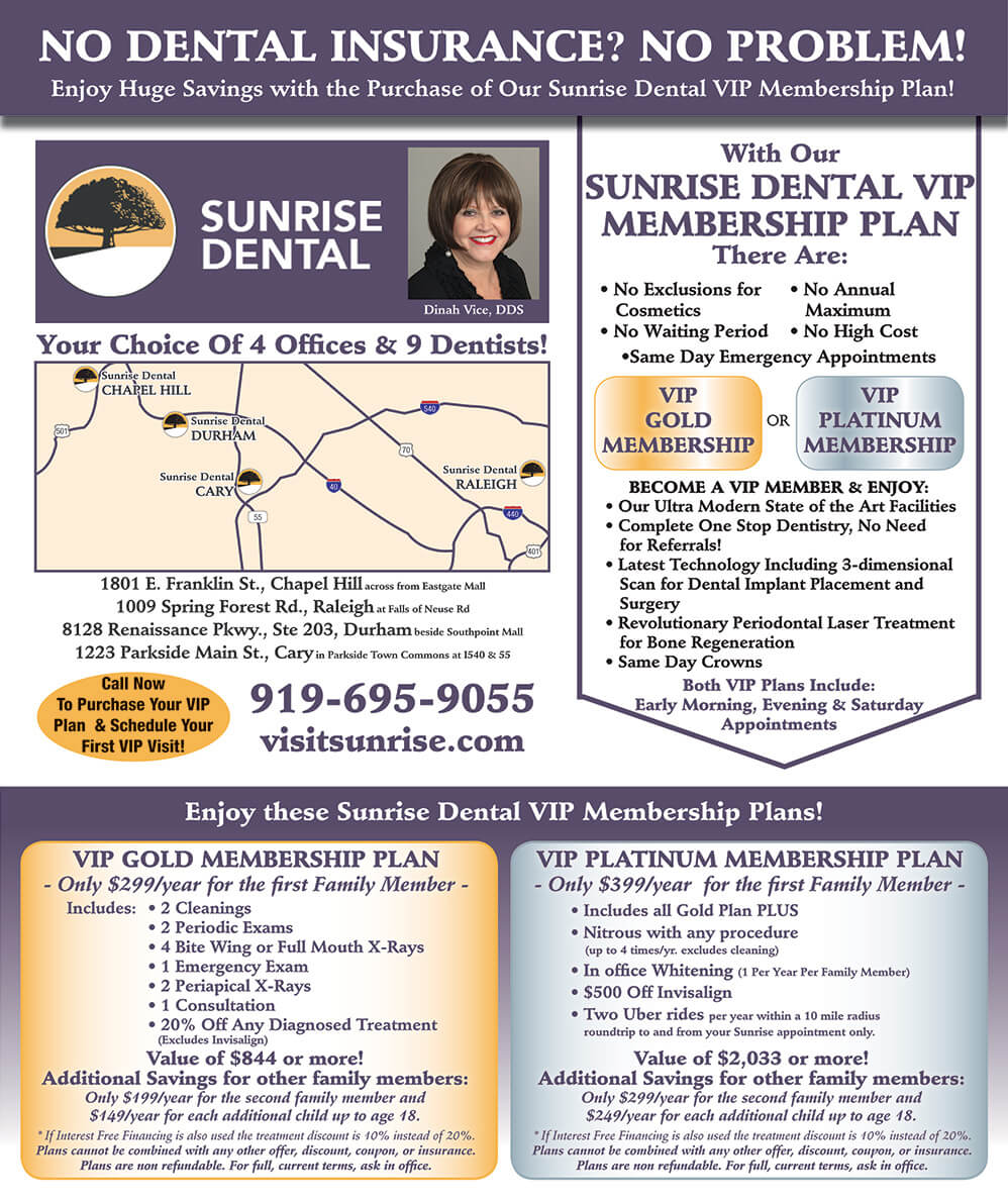 Sunrise Dental Payment Options